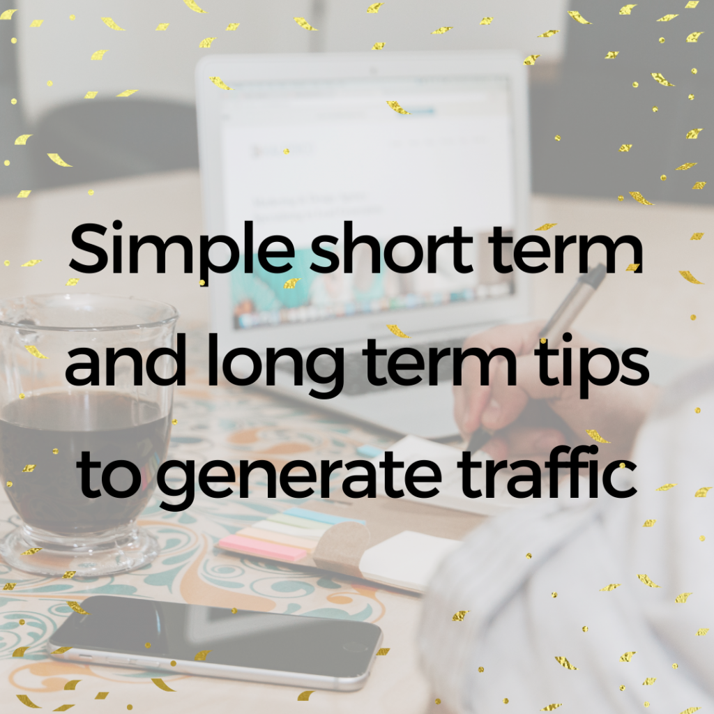 tips to drive traffic to a new website